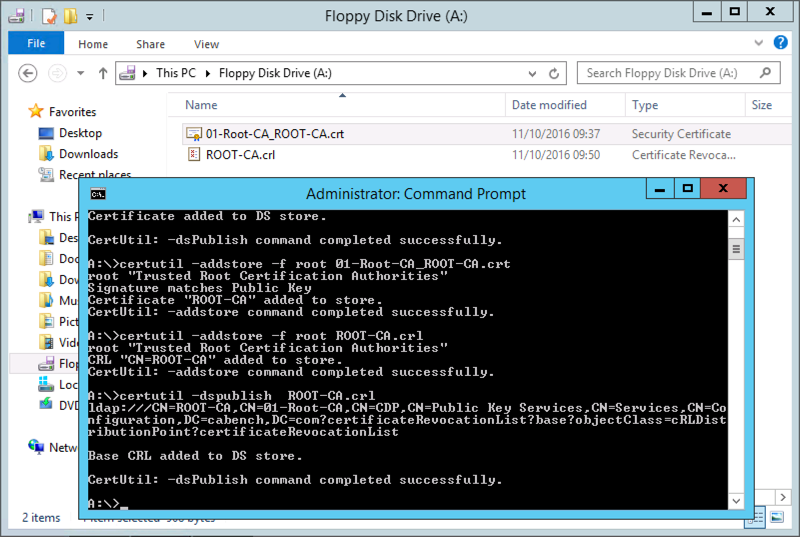 Microsoft PKI Planning and Deploying Certificate Services