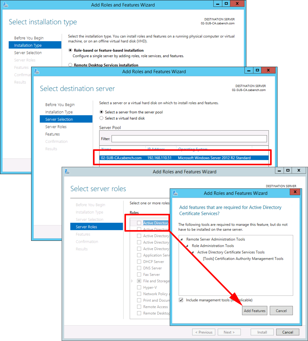 Microsoft pki planning and deploying certificate services part 3 2012 add certificate services xflitez Image collections