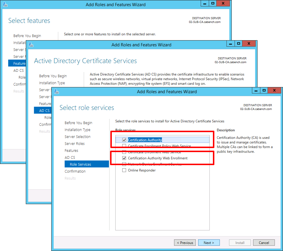 Microsoft pki planning and deploying certificate services part 3 023 certification authority windows xflitez Images