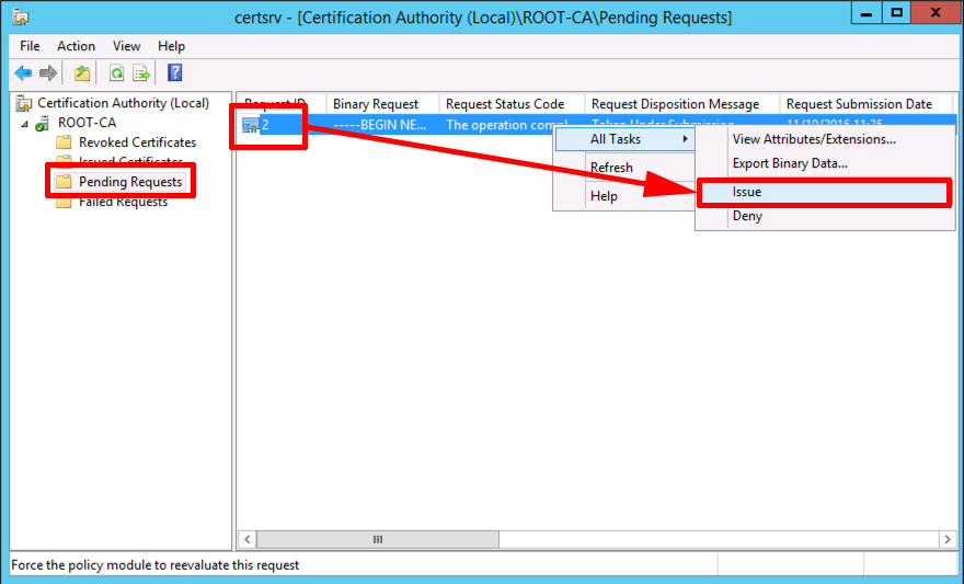 Microsoft pki planning and deploying certificate services part 3 issue subca certificate yelopaper Images