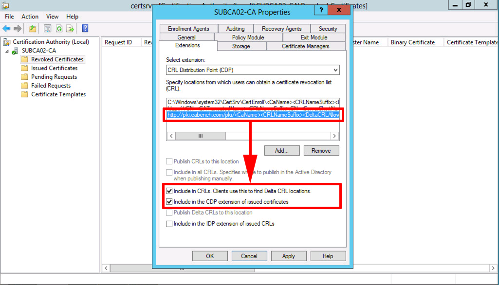 Microsoft pki planning and deploying certificate services part 3 publish crl windows server yadclub Choice Image