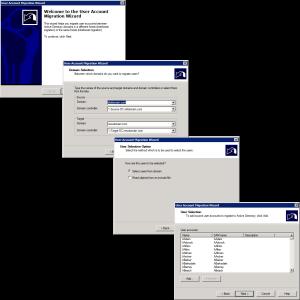 ADMT User Migration