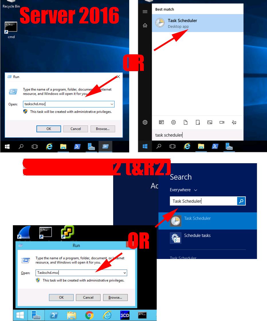Windows Server 2016 - Schedule a Reboot | PeteNetLive