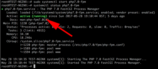 Start PHP set to Autostart