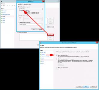 Windows Firewall Rule FirePOWER Agent