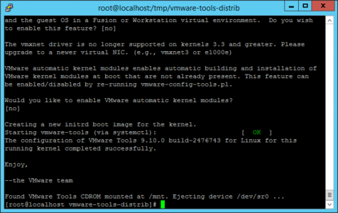 VMware Tools On Linux
