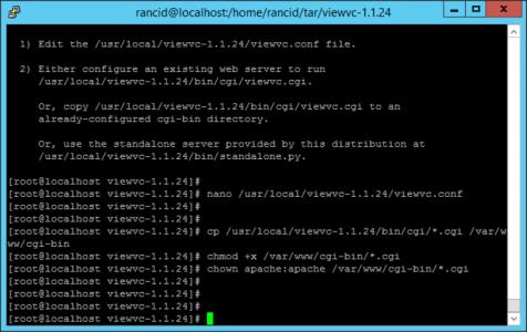 Apache Permissions ViewVC
