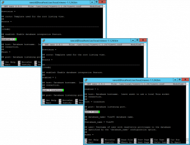 Configure ViewVC
