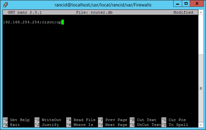 Setup RANCID and ViewVC (Part Two) Adding Cisco Devices