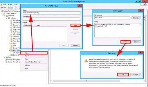 x64 Bit WMI Filter