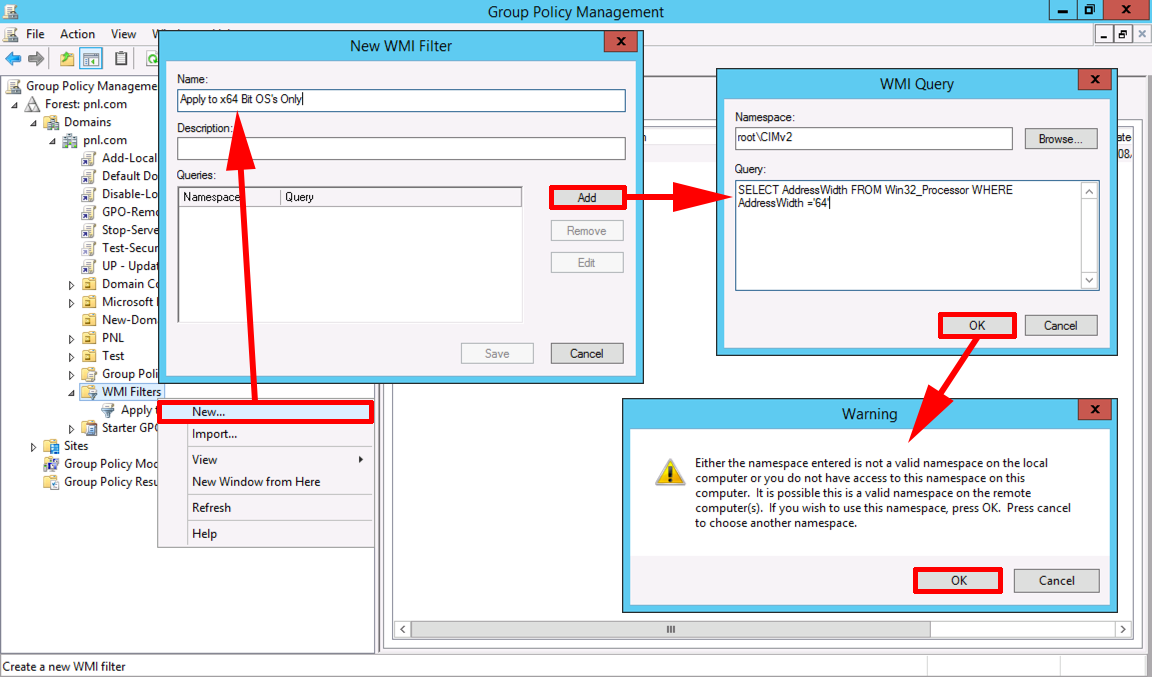 Using 32 and 64 Bit WMI Filters For Group Policy   PeteNetLive
