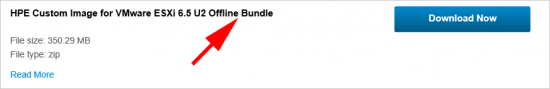 ESX Customised Upgrade Offline Bundle