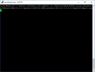 Install VMware Offline Bundle