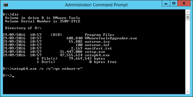VMware: Windows VM - No Mouse & Cannot Install VMware Tools