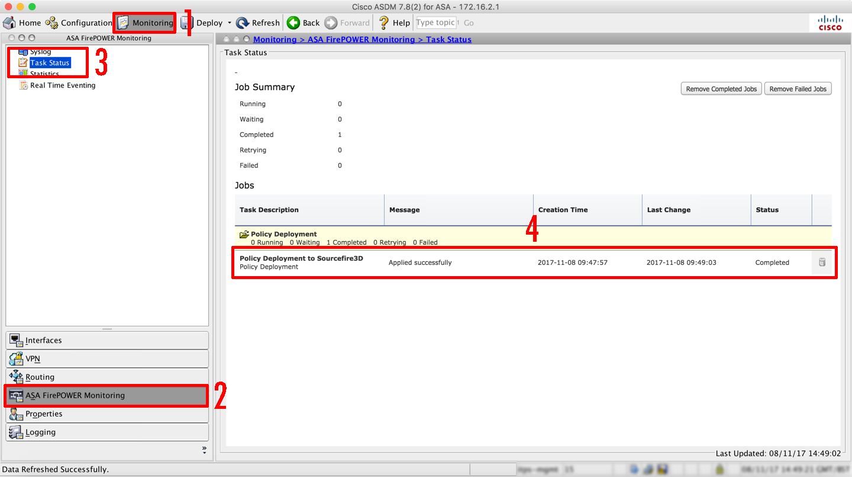 Cisco FirePOWER (On-Box / ASDM) Change the Time Zone