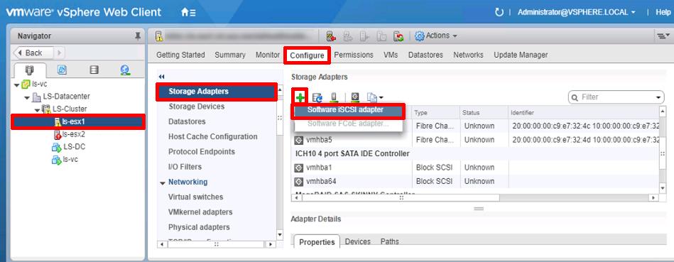 vSphere - Adding iSCSI Storage | PeteNetLive