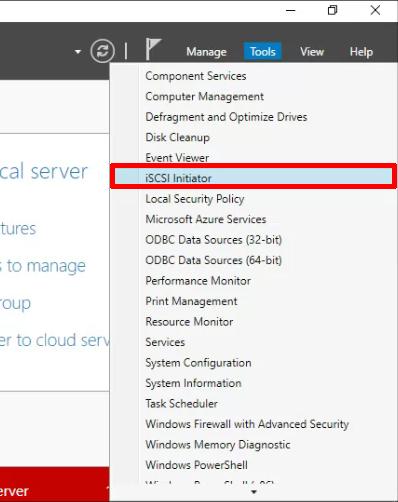 Windows Server: Connecting to iSCSI Storage Using MPIO