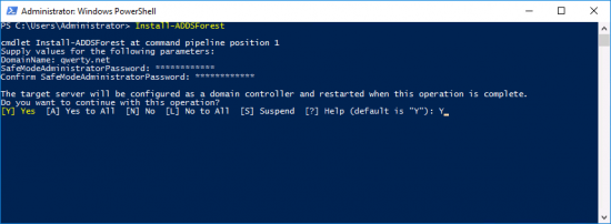 PowerShell New Forest