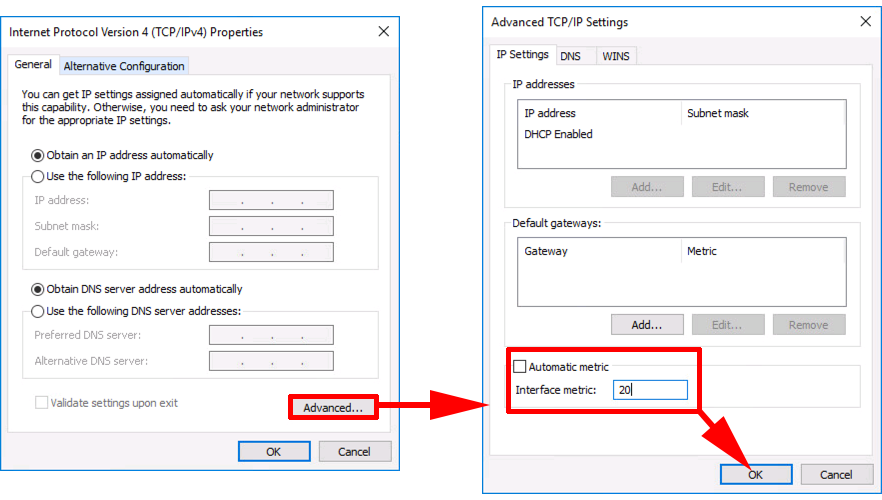 Windows 10: Remote VPN Client Cannot Resolve Domain DNS