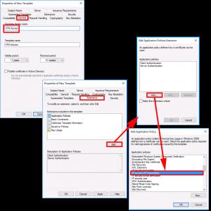 RAS Server Certificate