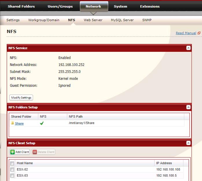 VMWare vSphere: Adding NFS Storage | PeteNetLive