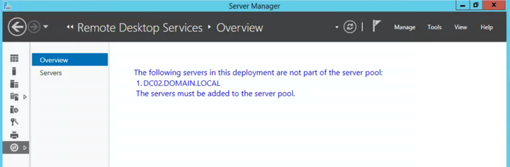 Remote Desktop Services: Can't Remove Dead Server | PeteNetLive