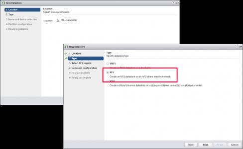 vSphere 6 add NFS