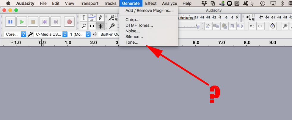 audacity remove effects from track
