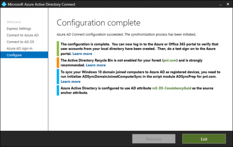 Azure AD Connect Complete