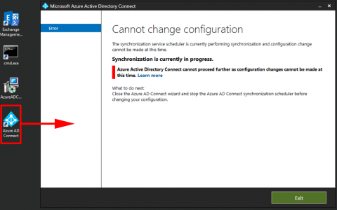 Azure AD Connect Syncing