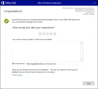 How To Configure Office 365 Hybrid