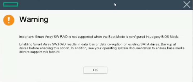 HP BL460c (Gen 10) Blade No RAID? | PeteNetLive