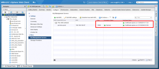 vMWare Full VM Encryption