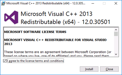 Exchange 2019 Install Visual C++