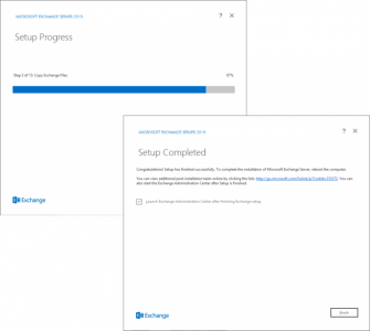 Install Exchange 2019