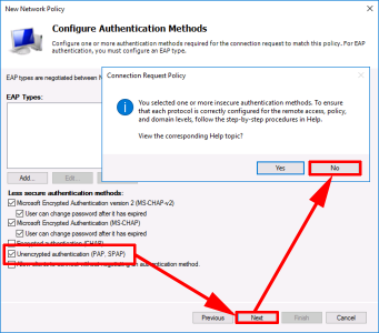 Cisco AnyConnect With Server 2016 NPAS (RADIUS) Different Groups