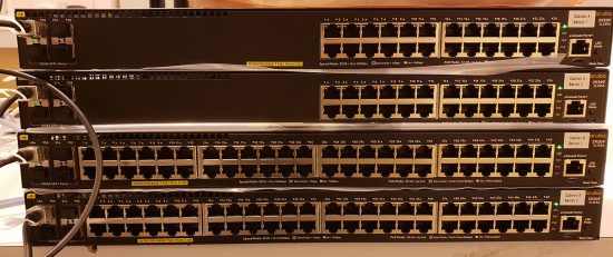 VSF Stacking Aruba Switches | PeteNetLive