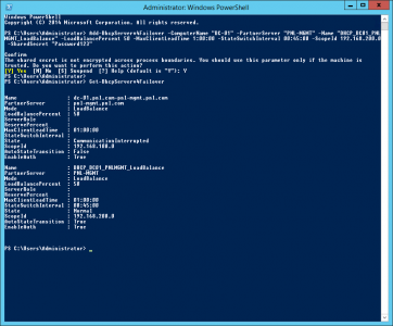Configure DHCP Failover PowerShell