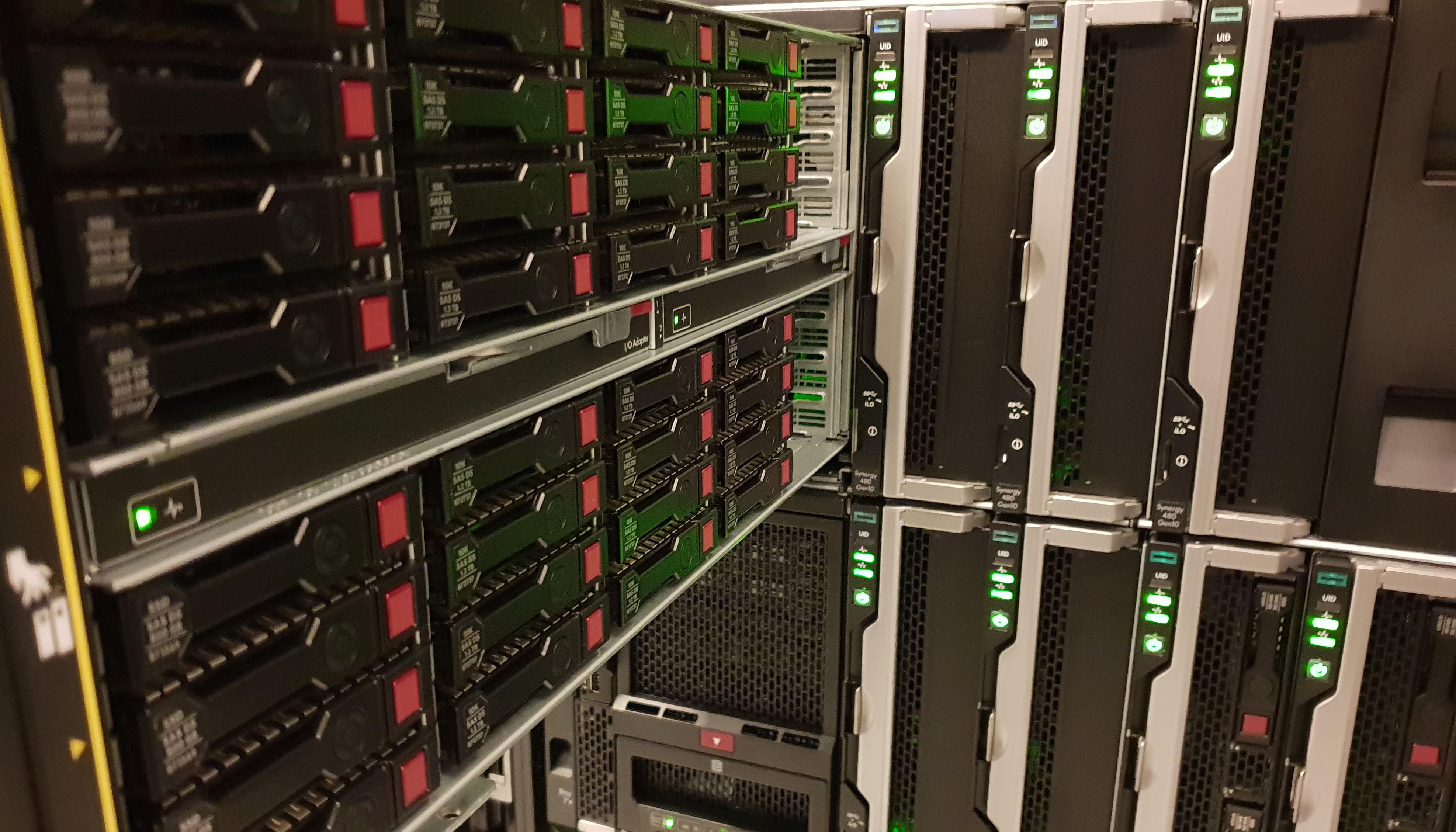 HPe Synergy 12000 MPIO QSFP to 10GB SFP Setup | PeteNetLive