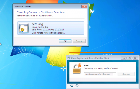 AnyConnect Prompt for Certificate