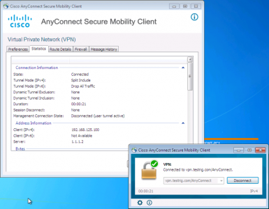 AnyConnect Windows DHCP