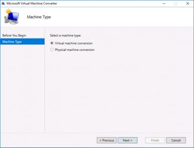 Microsoft Virtual Machine Convert Virtual Machine