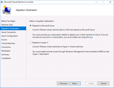 Migrate vCenter to Azure