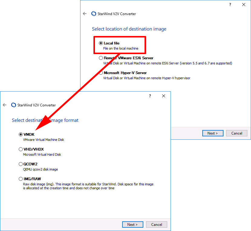 Convert (VMware) VMDK to (Microsoft) VHD/VHDX | PeteNetLive