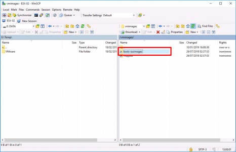 Locate VMTools ISO on ESXi