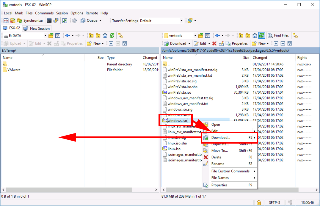 Manually Extracting VMware Tools Drivers | PeteNetLive