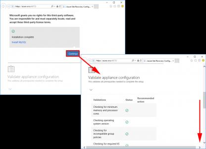 Validate Azure SR Server