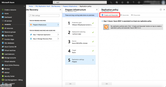 Azure Replication Policy