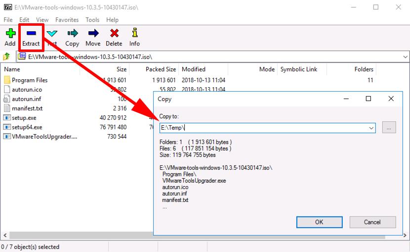Manually Extracting VMware Tools Drivers | PeteNetLive
