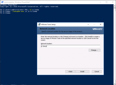Manually Extract VMware Drivers